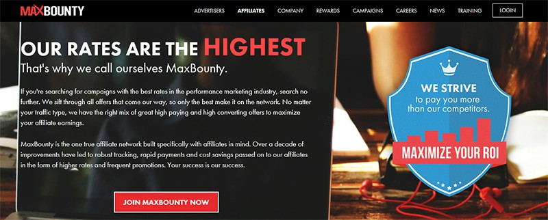 Maxbounty Sign Up