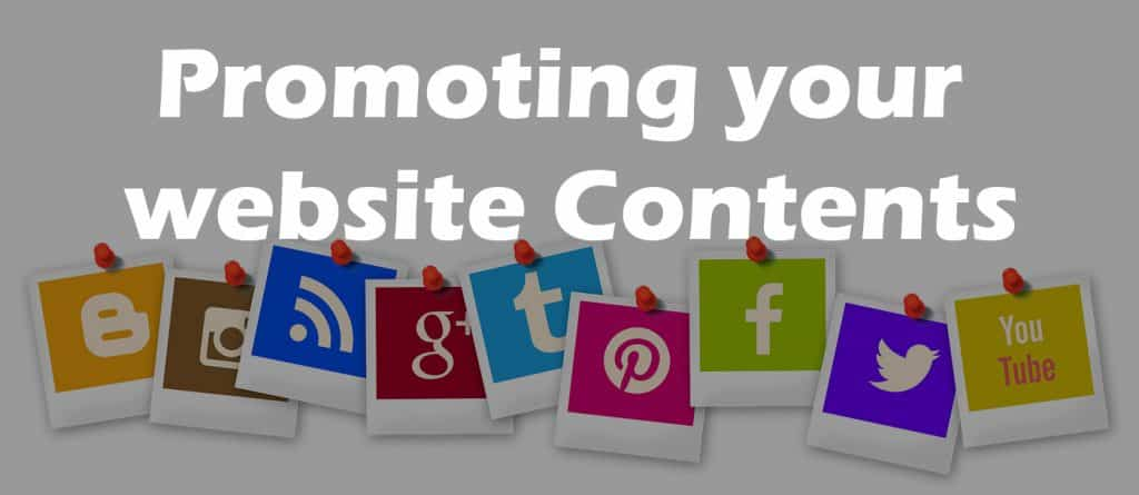 Content Marketing - How to Promote your Website on Social Media